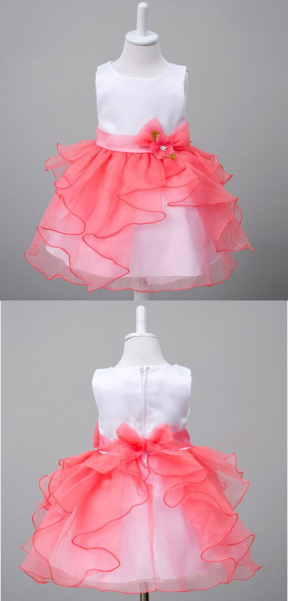 Only $31.9, Cheap Flower Girl Dresses Satin Organza Toddler Flower Girl Dress With Sash for Baby #QX-48 at #GemGrace. View more special Flower Girl Dresses,Cheap Flower Girl Dresses now? GemGrace is a solution for those who want to buy delicate gowns with affordable prices, a solution for those who have unique ideas about their gowns. 2018 new arrivals, shop now!