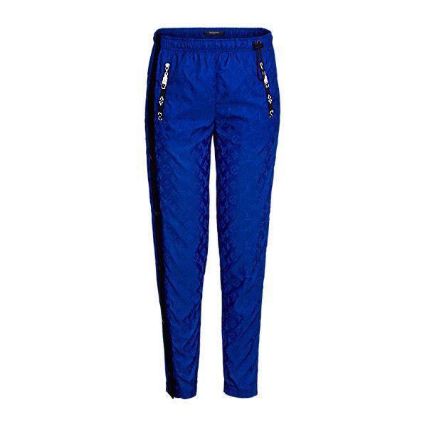 LOUIS VUITTON Pantalon de jogging Monogram en fil coupé ($235) ❤ liked on Polyvore featuring activewear and louis vuitton