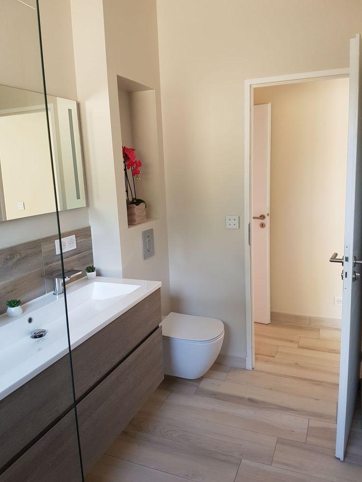 20 best Salle de bain images on Pinterest Bathroom, Bathrooms and - renovation electricite maison ancienne