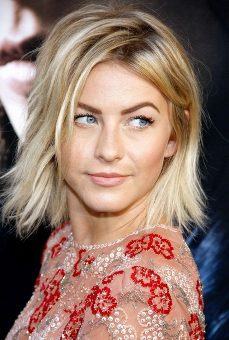 Christina ferrare hairstyle products used - Celebrity Layered Messy Bob Hairstyle For Women From Julianne Hough Hairstyles Weekly