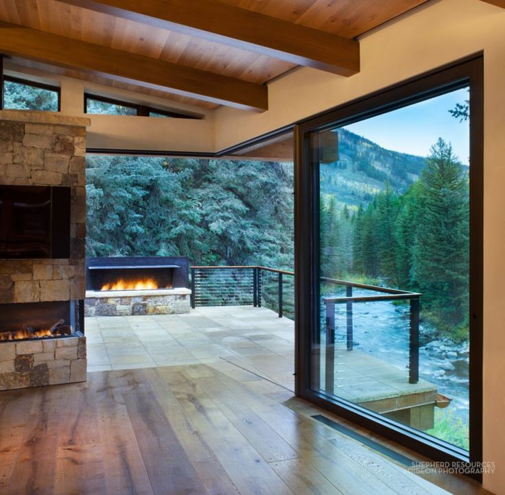 This Stunning Mountain Home Was Completed By Shepherd Resources Inc Aia