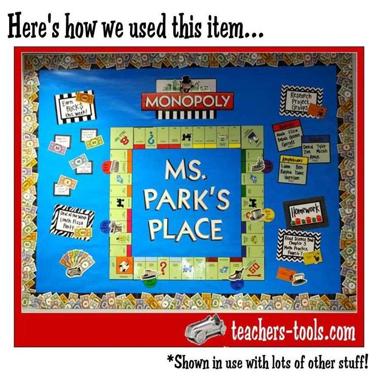 monopoly classroom theme - Google Search