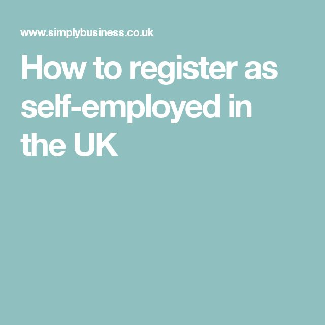 How to register as self-employed in the UK