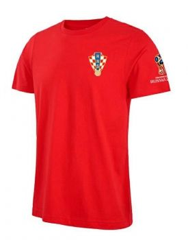 f2e9e8c46 2018 World Cup T Shirt Croatia Replica Red Tee  CFC692