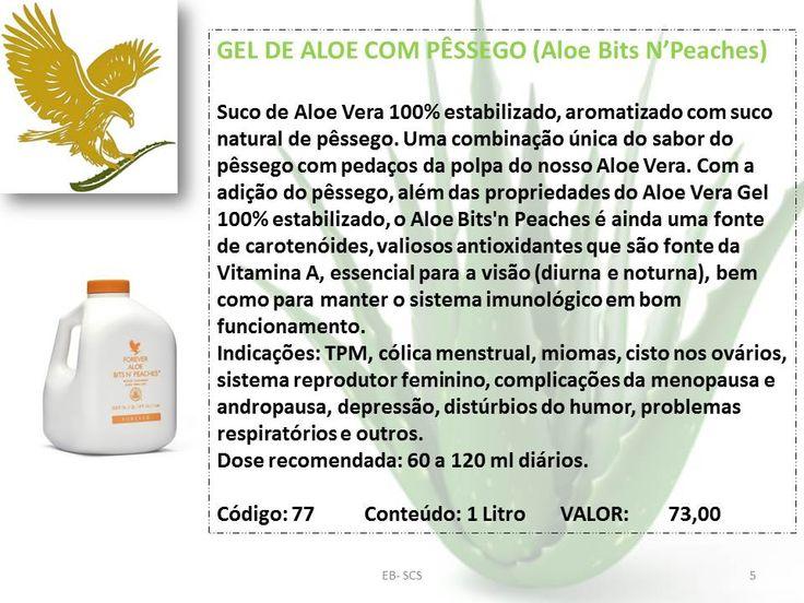 GEL DE ALOE COM PÊSSEGO (Aloe Bits N'Peaches)