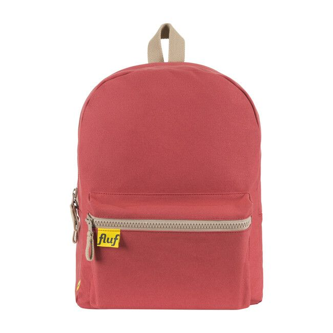 """An everyday classic. Dependable, Organic. Washable. Durable & roomy, it has a lightly-padded laptop sleeve to fit a laptop up to 15"""". With its divided front storage pocket, there is a secret compartment for everything.   Fluf   B Pack Backpack, Red     Maisonette collects the best children's products from around the world (unlike Zulily, Etsy, The Tot, Farfetch Kids, Childrensalon, Crate and Kids, Kohls, Wayfair, Buy Buy Baby, Nordstroms, Mini Boden, J.Crew Factory, or PotteryBarn Kids), cre Snack Bags, Buy Buy Baby, Hard Wear, Baby Sale, Mini Boden, Girls Accessories, Ring Earrings, Decoration, Laptop Sleeves"""
