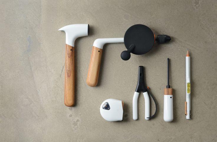 ChauhanStudio & Fiskars for Wallpaper* Handmade http://chauhanstudio.com/work/collaborations/hand-tools/