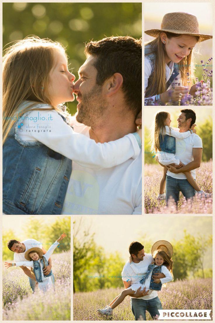 #family #outdoor #lavanda #tramonto #love  #dad
