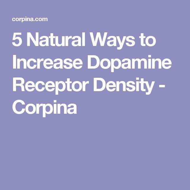 5 Natural Ways to Increase Dopamine Receptor Density - Corpina
