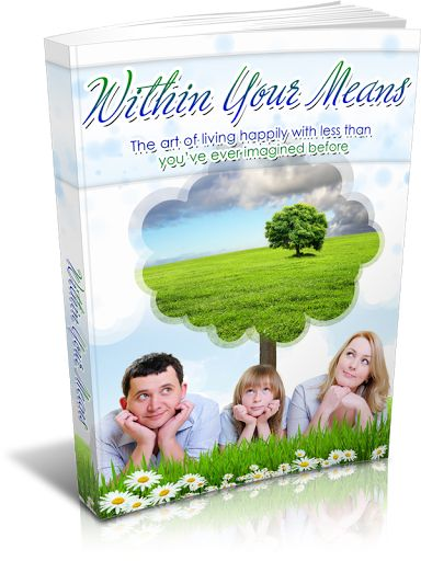 """Get All The Support And Guidance You Need To Be A Success At Living Within Your Means!""<p>This Book Is One Of The Most Valuable Resources In The World When It Comes To The Art Of Living Happily With Less Than You've Ever Imagined Before!<p>Keep reading to get the help you need…<p>Is the fact that you would like to live with less but just don't know how making your life difficult... maybe even miserable?<p>Does it seem like you've tried everything in your power to figure it out, and yet…"