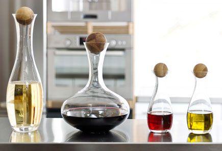 Sagaform Oval Oak Wine Carafe range! So pretty and simple.