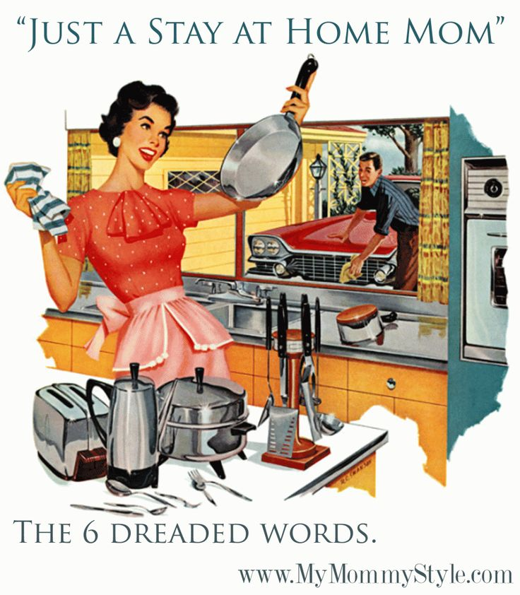 Stay Home Mom Ecard Friday