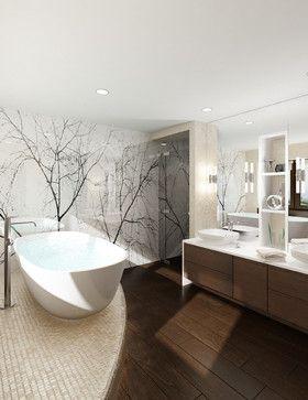 False Creek Penthouse - modern - bathroom - vancouver - Utanagel Design