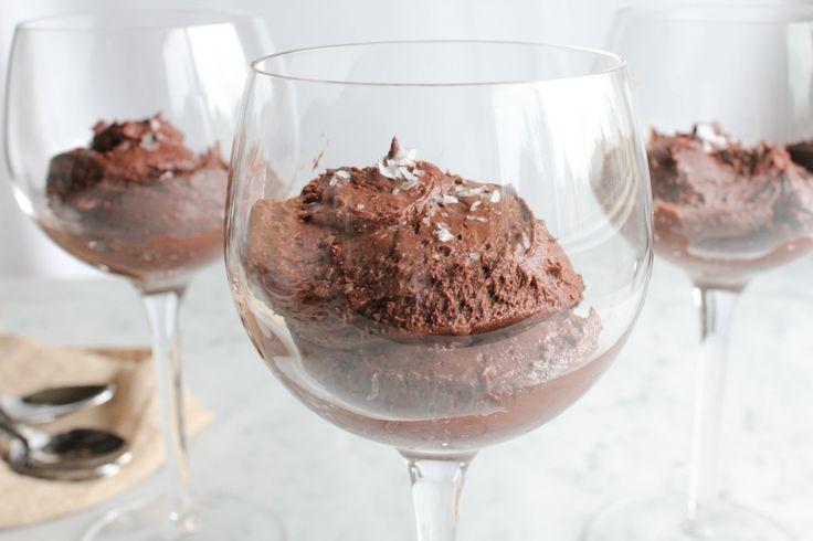 Sea Salt Dark Chocolate Mousse
