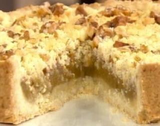 Cocineros Argentinos - }tarta de manzana masa arenada, Buenisima !!