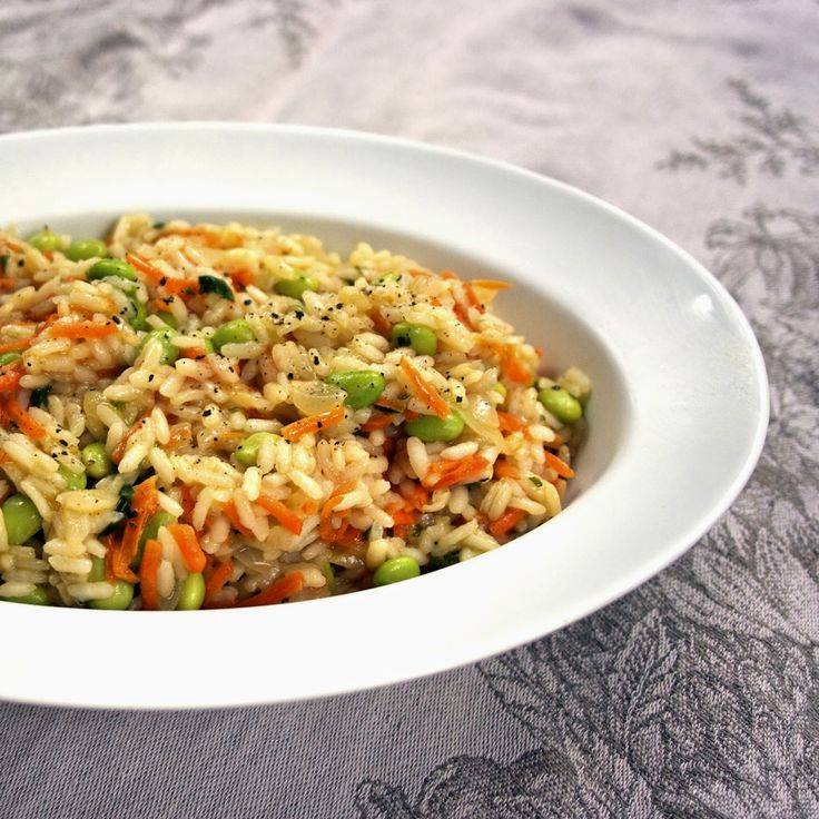 Vegetable Risotto- Baby Carrot & Fava Bean- simplelivingeating.com ...