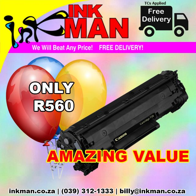 @Canon_SA 728 #Toner #UNBEATABLE #PRICE! ONLY R560 #INKman #Margate #Print http://bit.ly/1WaOYCd