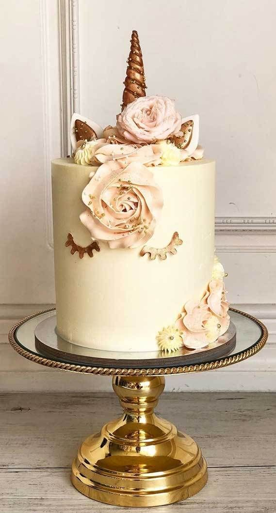 Super Pretty Birthday Cakes To Be Inspired 55 In 2020 Pretty Birthday Cakes Cake Birthday Cake Pictures