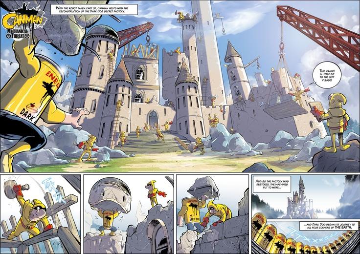 Season1- Issue25 #Canman #webcomic by #DARKDOG