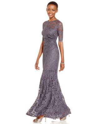 Definitely, MY STYLE!!!  Xscape Lace Shimmer Mermaid Gown