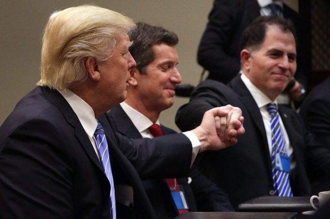 Trump's manufacturing council includes Elon Musk, Michael Dell and Mark Fields - http://www.sogotechnews.com/2017/01/27/trumps-manufacturing-council-includes-elon-musk-michael-dell-and-mark-fields/?utm_source=Pinterest&utm_medium=autoshare&utm_campaign=SOGO+Tech+News