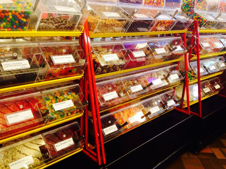 You could eat healthy all the time at UofG but for the times you don't want to there's a candy bar!