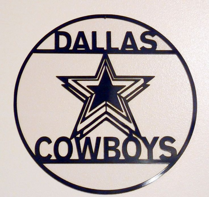 Dallas Cowboys Wall Art Metal Art Home Decor By