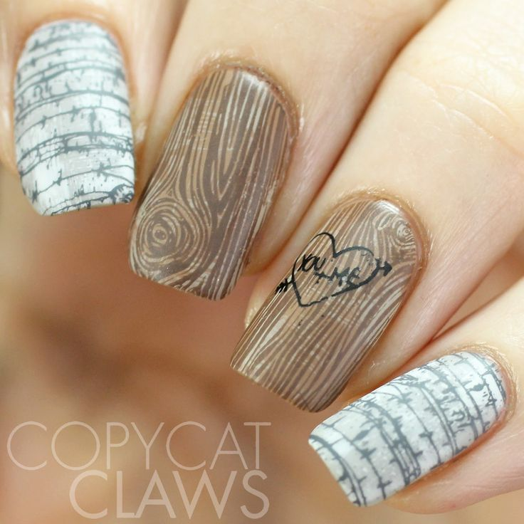 Copycat Claws Blue Color Block Nail Art: 17 Best Images About * Stamping Nail Art Design Ideas On