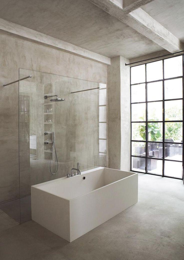 54 best Fliesen in Steinoptik images on Pinterest Bathrooms - dunkle fliesen wohnzimmer modern