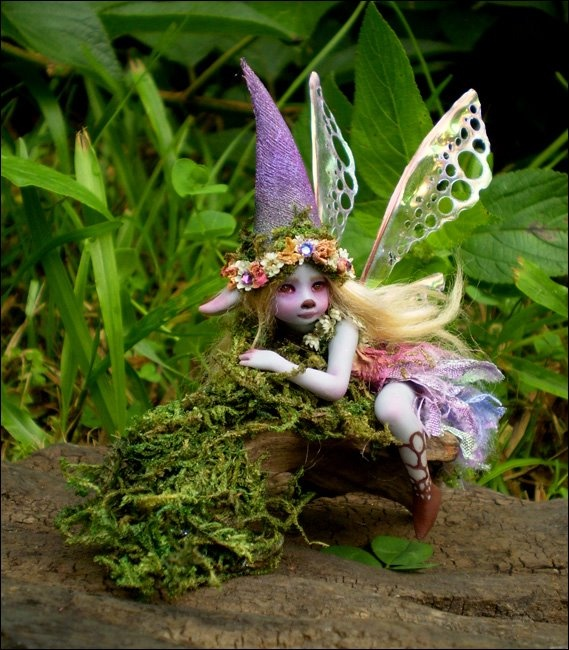 by Celia Harris...lovely little Fae.: