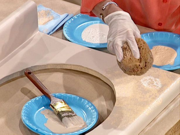 How to Paint a Laminate Countertop : How-To : DIY Network