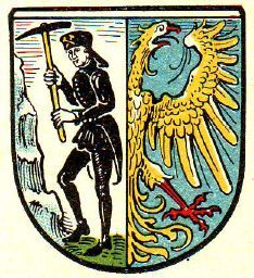 Bytom Poland Coat of arms by Otto Hupp 1889. (must find larger) Hupp is a German artist who designed the Spaten Beer logo.