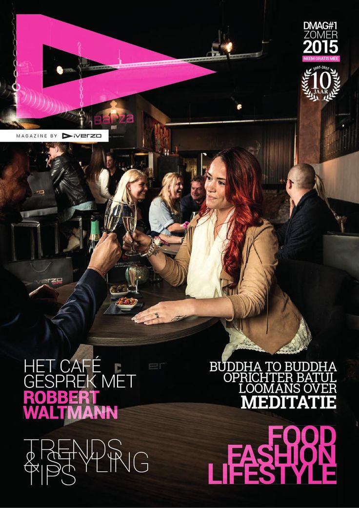 Diverzo Magazine Editie zomer 2015 Food, fashion & lifestyle news. Opdrachtgever: Diverzo Mode & Cafe Uitgever: Druktemaker Media