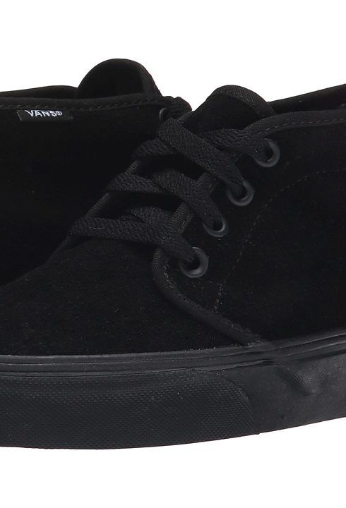 Vans Chukka Boot Core Classics (Black/Black (Suede)) Shoes - Vans, Chukka Boot Core Classics, VN-0EGTBKA, Men's Athletic Skate Shoes, Fashion, Closed Footwear, Closed Footwear, Footwear, Shoes, Gift, - Fashion Ideas To Inspire
