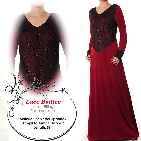 Lace Floral Fashion Islamic Abaya Long Sleeves Maxi by MissMode21, $28.00