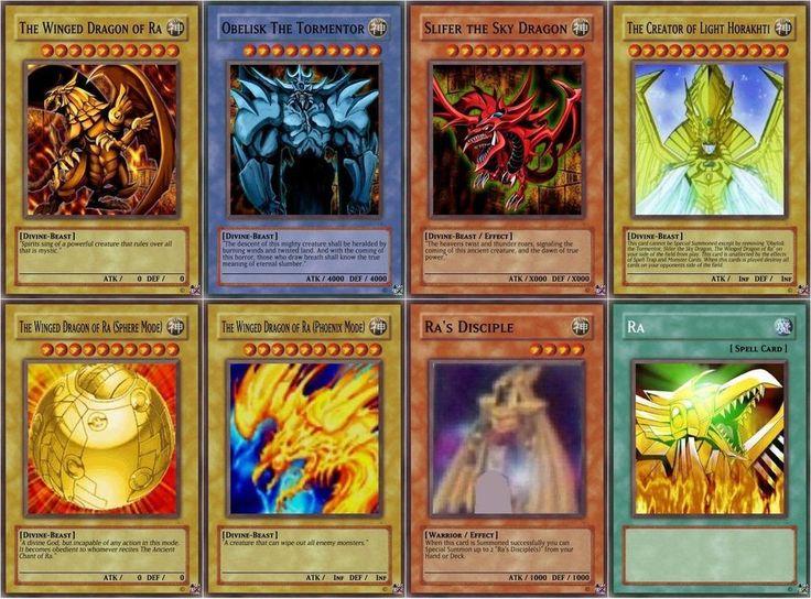 buying Free Yu Gi Oh God Cards | YuGiOh God Cards by StarFleetCommander on deviantART