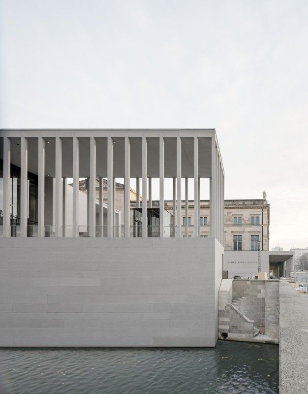 Berlin David Chipperfield Completes The James Simon Galerie On The Museum Island David Chipperfield Architects David Chipperfield Architecture Museum Island