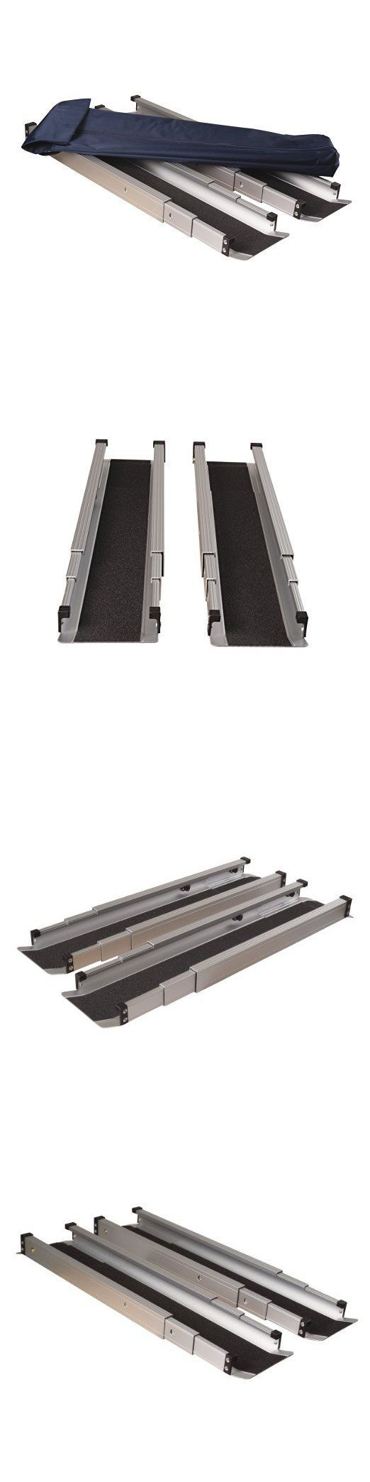Access Ramps: Dmi Telescoping Retractable Lightweight Portable Wheelchair Ramps, New !!! BUY IT NOW ONLY: $129.99