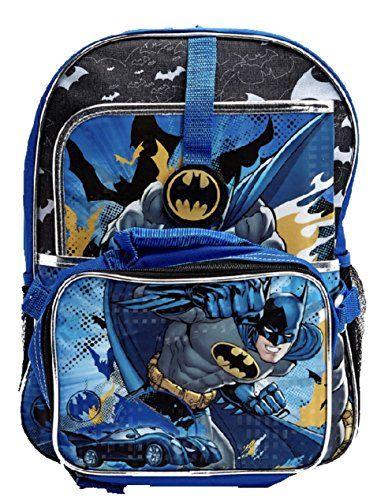 4c308be9a36f DC Comics Batman Backpack Set Backpack Lunch Bag Folder        AMAZON BEST  BUY     DisneyLego