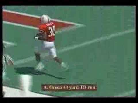 Ahman Green Highlights