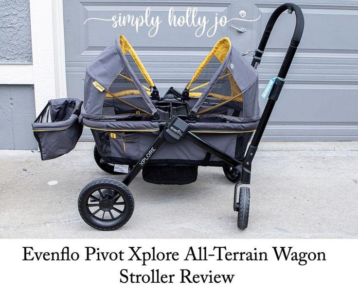 Evenflo Pivot Xplore AllTerrain Wagon Stroller Review