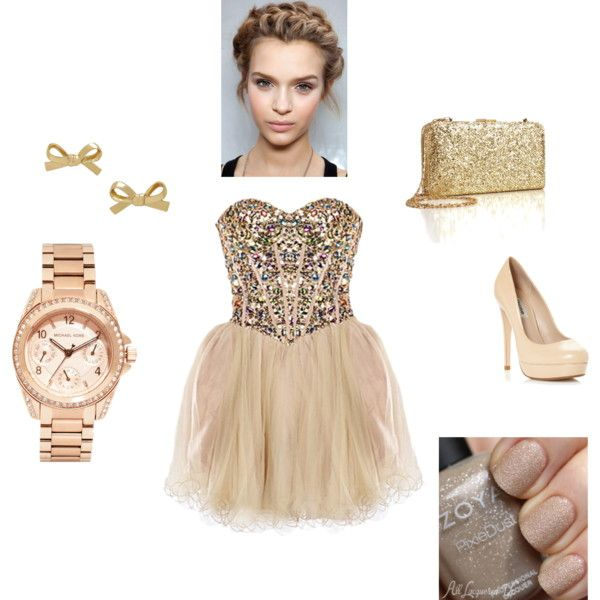 pink dress by iasemin1987 on Polyvore