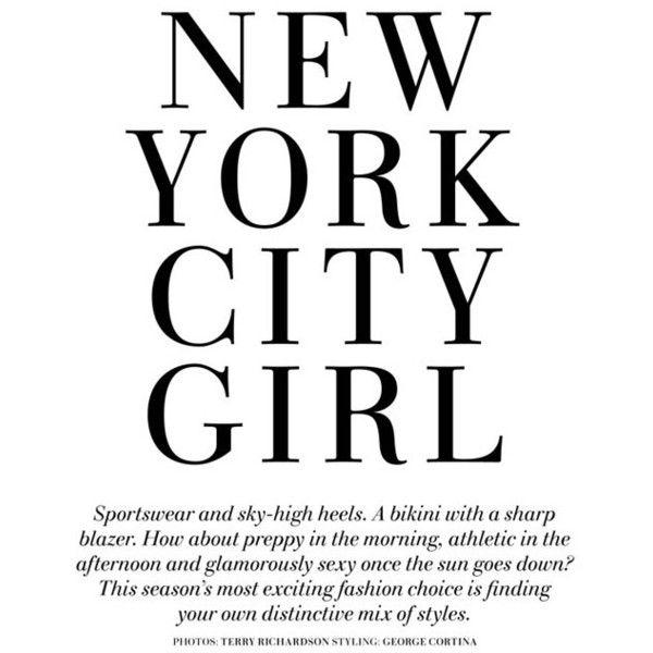 "Natasa Vojnovic ""New York City Girl found on Polyvore"