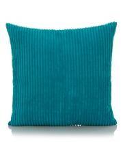 George Home Turquoise Jumbo Cord Cushion  50x50cm