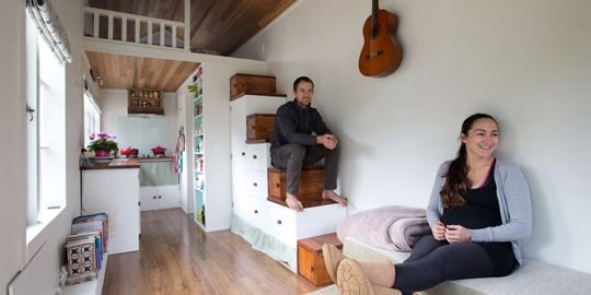 Make yourself a home (+photos) - Life & Style - NZ Herald News. Tiny houses in NZ