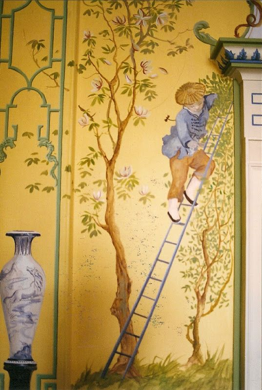 1000 images about chinoiserie fusuma e murals on for Chinoiserie mural wallpaper
