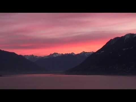 Morgenrot am Lago Maggiore
