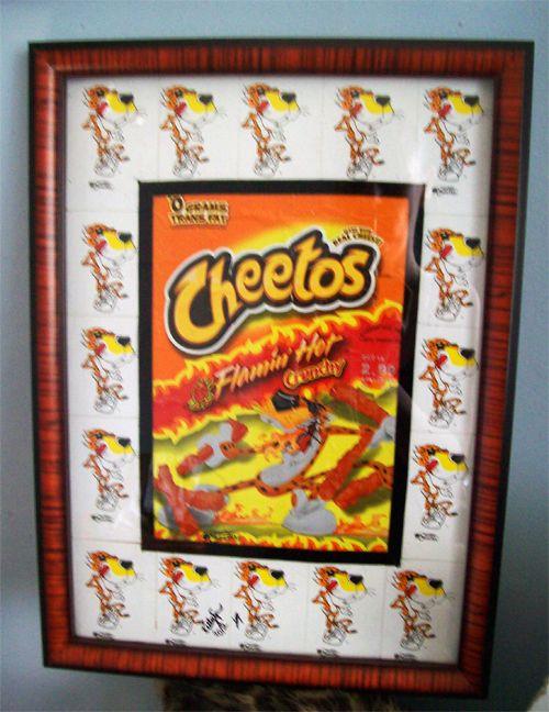 DIY Chester Cheeto's Framed Wall Art
