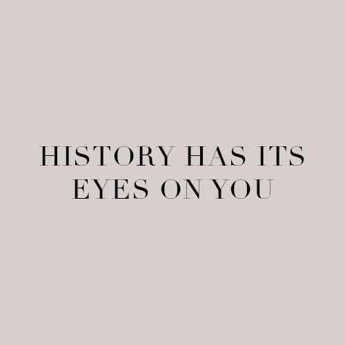 A história tem seus olhos em você
