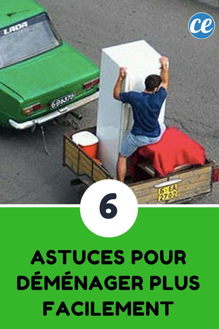 6 Astuces Pour Demenager Plus Facilement Astuce Demenagement Demenagement Preparer Son Demenagement